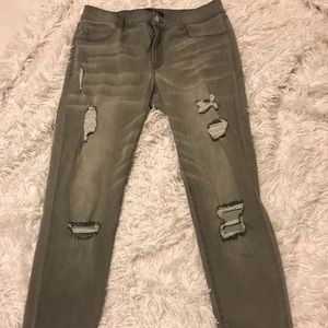 Charolette Russe Jeans! (Grey) never been worn!